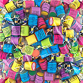 Party Poppers Assorted - 100 pack