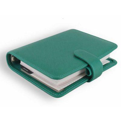 Filofax Saffiano Pocket Organiser, Aqua