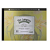 Daler Rowney 140lb 12 inch x 9 inch Hot Press Langton Gummed Pad