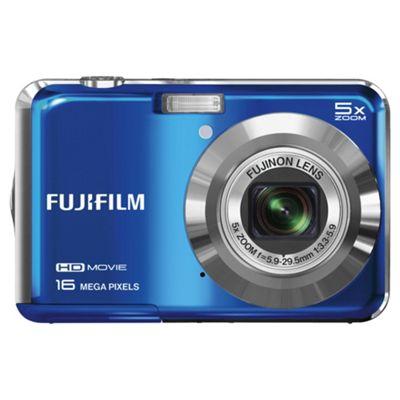 Fuji AX650 Digital Camera, Blue, 16MP, 5x Optical Zoom, 2.7
