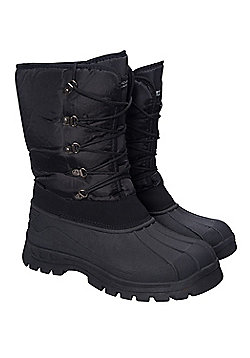 Mountain Warehouse Plough Mens Snow Boots ( Size: Adult 09 )