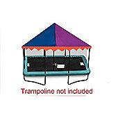 6ft x 9ft Rectangular Jumpking Circus Canopy Trampoline Tent