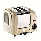 Dualit Vario 2 Slice Toaster - Cream