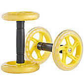 Gold Coast Core Ab Abdominal Exercise Roller Wheels - Set of 2
