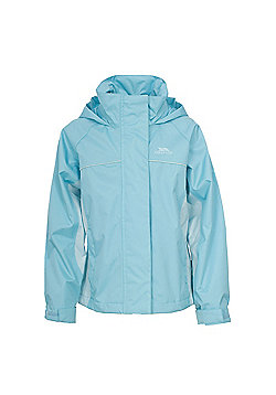 Trespass Girls Sooki Waterproof Jacket - Blue