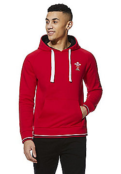 Welsh Rugby Union Hoodie - Red
