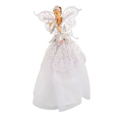 Iridescent Fairy Christmas Tree Topper