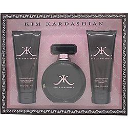 Kim Kardashian Gift Set 100ml EDP + 100ml Shower Gel + 100ml Body Lotion For Women