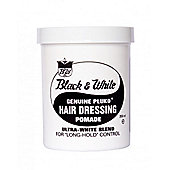 Black & White Hair Wax Genuine Pluko