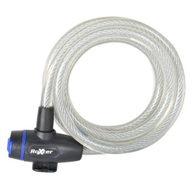 Roxter Cable Lock 1.8m x 12mm Clear