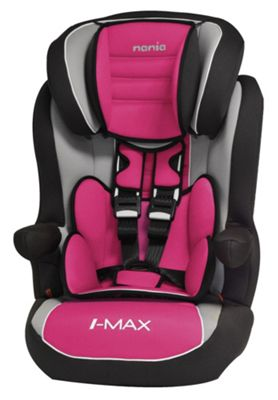 Nania Luxe Imax SP High Back Booster Car Seat With Harness Group 1 2