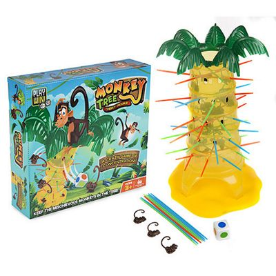 Play and Win Monkey Tree Game