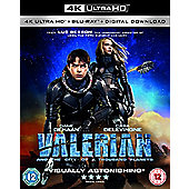 Valerian And The City Of A Thousand Planets 4K Uhd & Bluray 2Disc