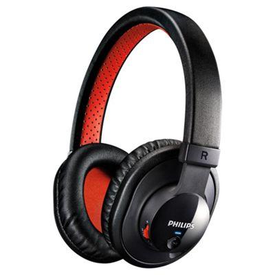 Philips SHB7000 Bluetooth Stereo Headphones - Black