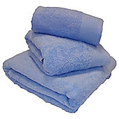 Luxury Egyptian Cotton Hand Towel - Blue