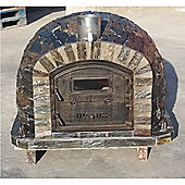 100cm Outdoor Wood-Fired Stone Pizza Oven