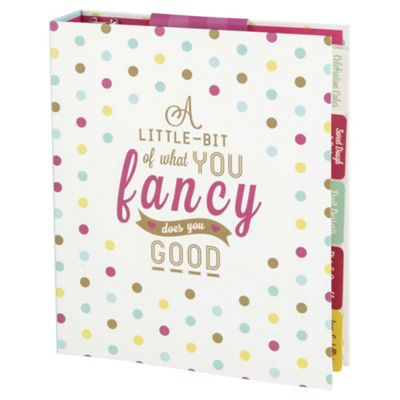Sweetie Shop Recipe Organiser