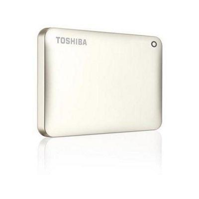 Toshiba Canvio Connect II 500GB 2.5 External Hard Drive - Satin Gold