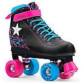 SFR Vision II Lights Kids Quad Roller Skates - Pink
