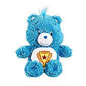 Care Bears Beanie Fluffy Soft Toy - Champ Bear