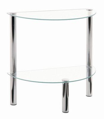 Urbane Designs Estland Side Table - Chrome