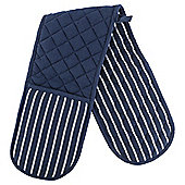 Navy Stripe Double Oven Glove