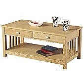 Ash 2 Drawer Coffee Table