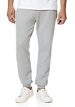 F&F Cuffed Joggers with As New Technology - Marl grey
