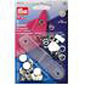 Non-Sew Fastener Jersey 12mm Wh