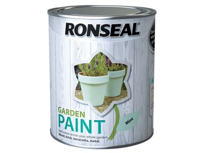 Ronseal Garden Paint Mint 750ml