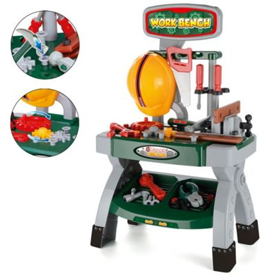 Toyrific Work Bench Play Set With Tools
