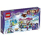 Lego Friends Snow Resort Hot Chocolate Van 41319