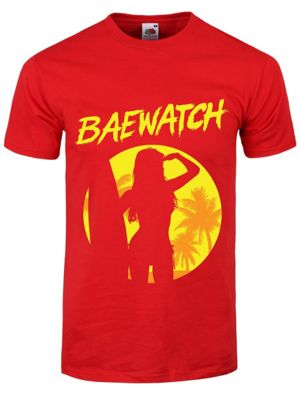 Baewatch Red Men's T-shirt