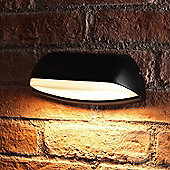 Auraglow Outdoor 12w LED Contemporary House Number Wall Light - Warm White