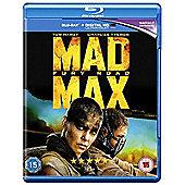 Mad Max Fury Road Blu-ray