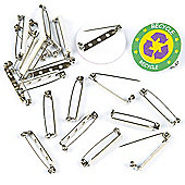Self-Adhesive Craft Badge Pins (Pack Of 20)