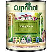 Cuprinol Garden Shades - Sunny Lime - 1 Litre