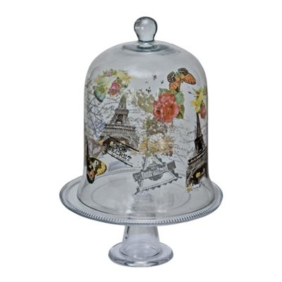 Natures Own Glass Cake Stand