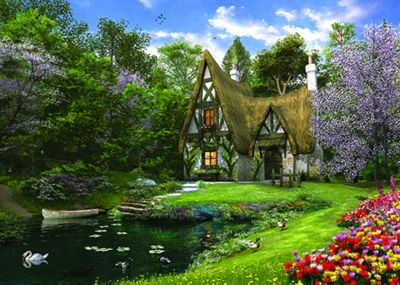 Spring Lake Cottage - 3000pc Puzzle