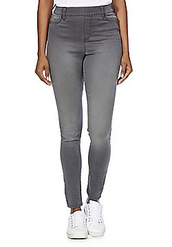 F&F Premium Mid Rise Jeggings - Grey wash