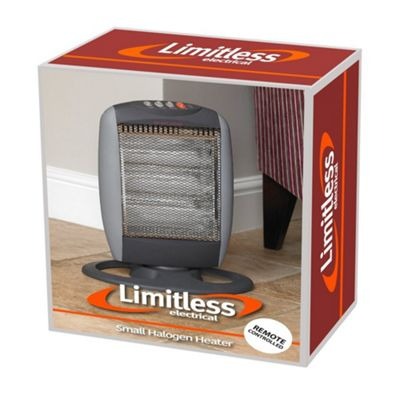 Limitless 1200w Halogen Heater with Remote Control