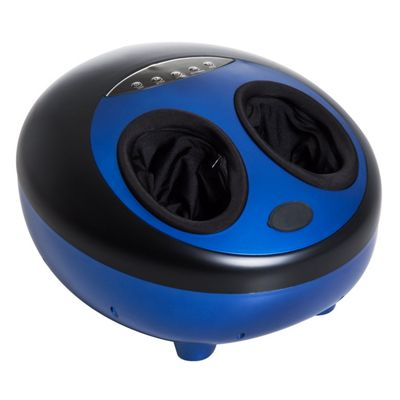 Homcom Deep Kneading Foot Massager with Adjustable Heat and Vibration Modes - Blue
