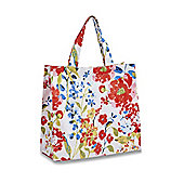 Cooksmart Floral Romance Small Tote Style PVC Bag