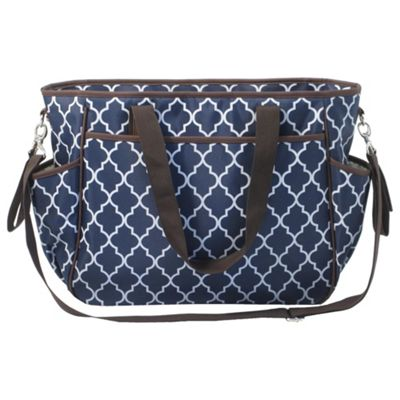 Summer Infant Tote Baby Changing Bag, Midnight Moroccan