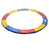 Outsunny 8ft Trampoline Pads Safety Enclosure Pad Pading Pads - Mutli Coloured