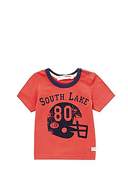 Minoti American Football Logo T-Shirt - Red