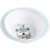 Badabulle Microwaveable Bowl (Blue Beaver)