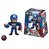 Metals Die Cast Marvel Civil War: 4 Inch Captain America