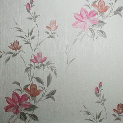 Superfresco Reed Metallic Floral Pink Wallpaper