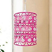 Crystal Pink Light Shade